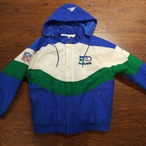 Authentic Pro line by Apex One Seahawks Jacket